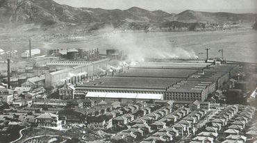 朝鮮の工場