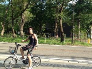 自転車 西湖1 山縣有斗