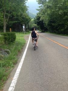 自転車 西湖2 山縣有斗