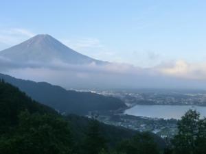 絶景ポイントから 富士山1