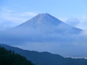 絶景ポイントからの富士山3