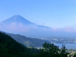 絶景ポイントから 富士山2
