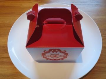 ロールケーキの箱
