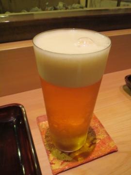 生ビールを一杯