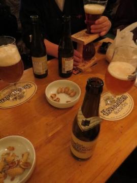 ビールを愉しむ皆様