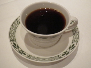 コーヒー 600円