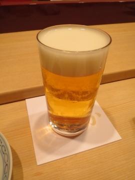 生ビール(小)300円