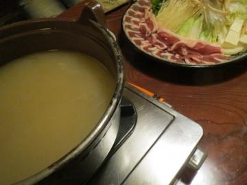鍋のスープ、最高です・・・