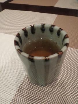 食後のジャスミン茶