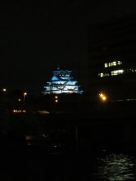 デッキからの夜景