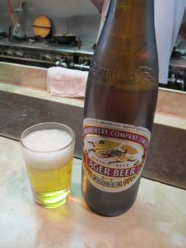 ビール(大) 550円