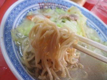 戸畑チャンポン細蒸し麺