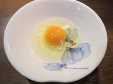 すきしゃぶの卵