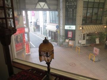 2階窓からの景色