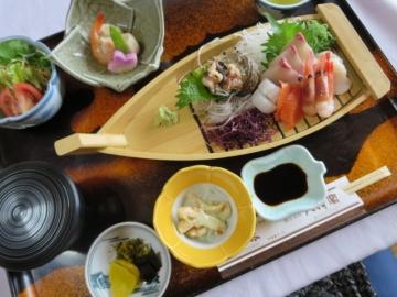 さしみ定食(8品) 2100円