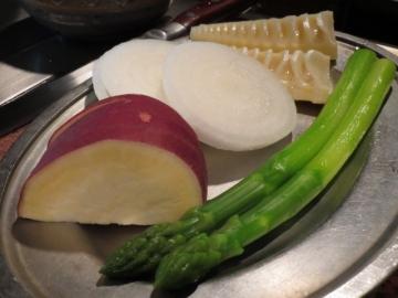 ある日の焼き野菜