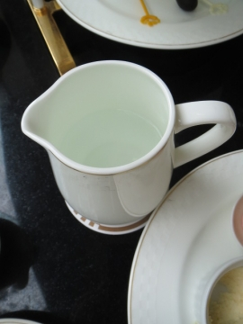良いタイミングで紅茶の注し湯