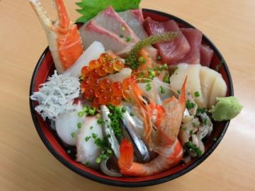 海鮮丼 1000円