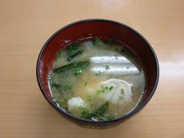 魚のアラの味噌汁