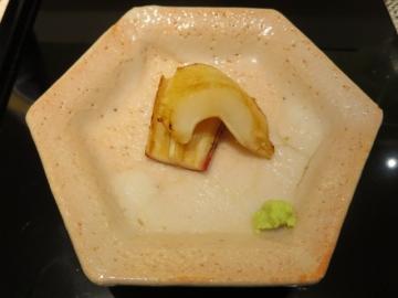 ミル貝の醤油焼き