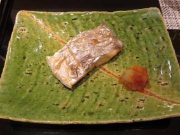 太刀魚の焼き物