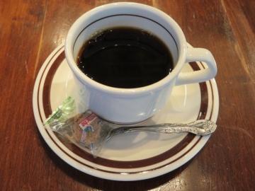 ドリンクバーのコーヒー