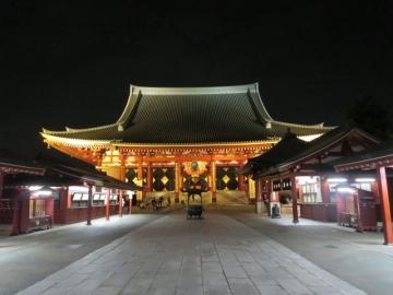 夜の浅草 (3)
