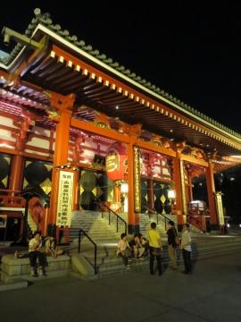 夜の浅草 (4)