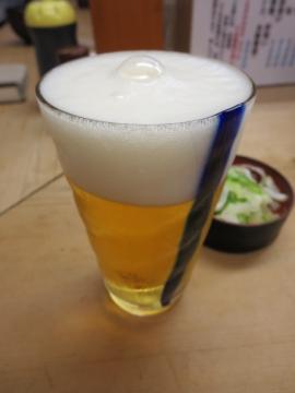 生ビール グラス 200円