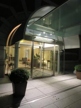 ・ホテル入口