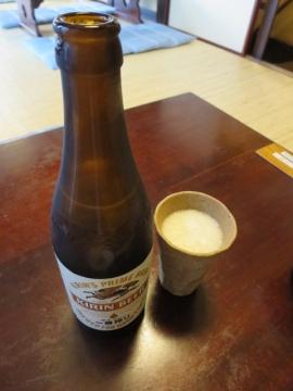 ビール 中瓶(キリン) 600円