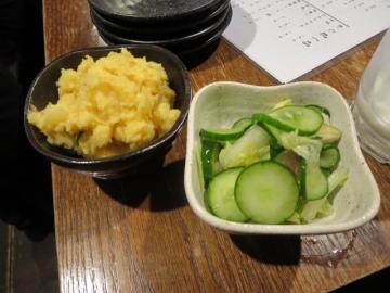 ポテトサラダ 150円、浅漬け 150円