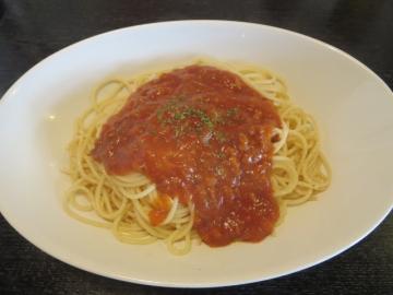 スパゲティ ミートソース 650円