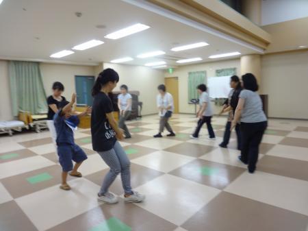 阿礼踊り練習①