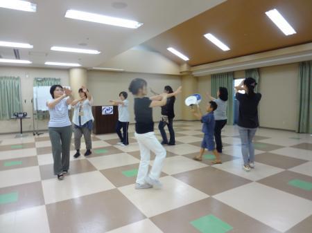 阿礼踊り練習②
