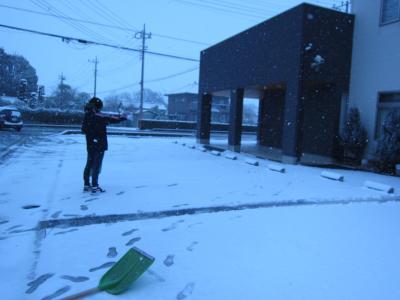 雪かき中島さん