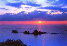 坊津海岸遠見