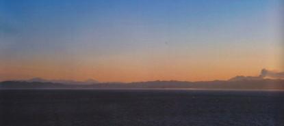 笠沙から高千穂と桜島