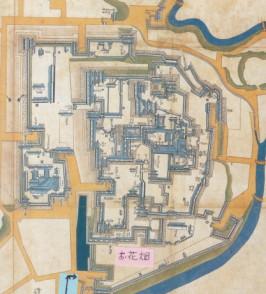 熊本城図・文化十一年