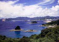 香焼島風景