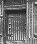 石川門・扉の構造