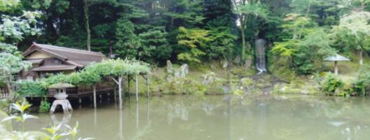 三芳庵水亭・瓢池・翠瀧