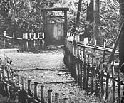 三芳庵横の木戸・現在はない