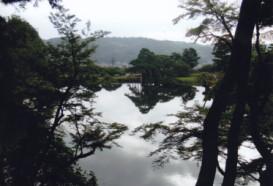 霞ヶ池俯瞰