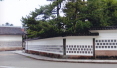 成巽閣・なまこ塀