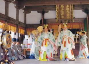 宗像大社・浦安の舞
