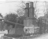 反射炉と大砲(模型)