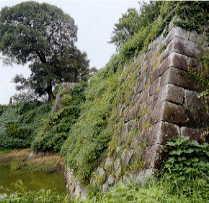 久留米城・石垣
