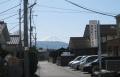 クリニックから富士を望む
