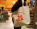 エルクのトートバッグ